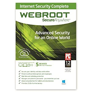 SecureAnywhere Intermet Security Complete 5 Device Download [Download] images