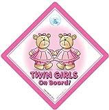 Radio de coche portacarteles de doble rejilla de plataforma con ruedas para cochecito, color rosa y lleva los, Gemelos portacarteles de plataforma con ruedas para cochecito, de pared doble para hacer vestidos de ni�a, muestra del beb� plataforma con
