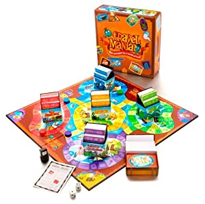GeoToys Travel Mania Board Game