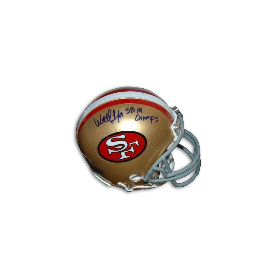 Wendell Tyler Autographed San Francisco 49ers Mini Helmet