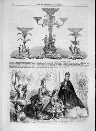 1862 Testimonial Waugh India Paris Fashions Ladies
