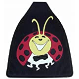Vw Bug / Beetle Lady Bug Rubber Floor Mats, Fronts Only, Pair. Help Protect Your Interior Floors with Thick Rugged Floor Mats. A Real