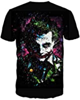 Batman - The Joker - The Dark Knight - DC Comics Adult T-shirt Tee