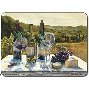 Jason A Wine Tasting Placemats - Set of 4 (Large)