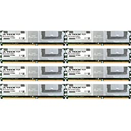 32GB KIT (8 x 4GB) For Dell Precision Workstation Series 490 690 (1KW) 690 (750W) 690n (750W) T5400 T7400. DIMM DDR2 ECC Fully Buffered PC2-5300 667MHz RAM Memory. Genuine A-Tech Brand.