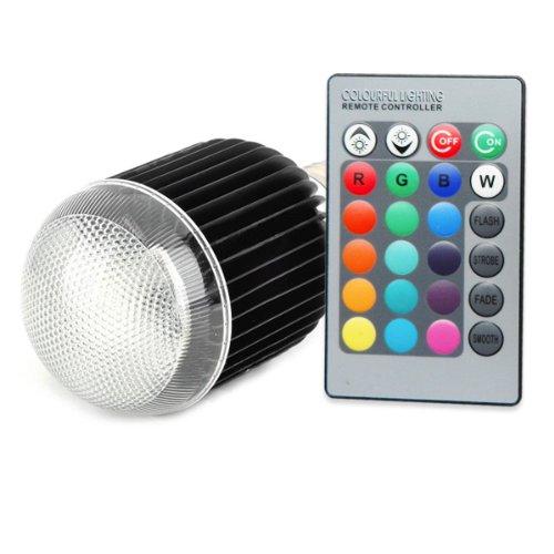 Wandafull 9W Led Light E27 With Remote Control Color Changing Light Bulb With Remote 16 Color Energy Saving