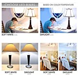 TCP 65 Watt Equivalent 6-pack LED BR30 Flood Light Bulbs, Non-Dimmable Daylight White (5000K) LBR301050KND6