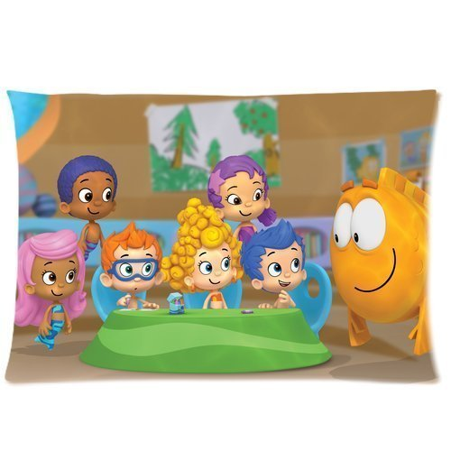 Hertanercase-Bubble-Guppies-Custom-Zippered-Soft-Pillow-Cases-20x30-Two-sides