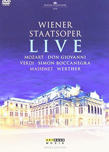 Wiener Staatsoper Live - Mozart/Verdi/Massenet [3 DVDs]
