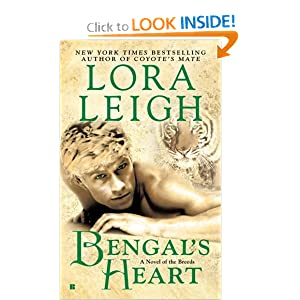 Bengal's Heart (Breeds, No 7)