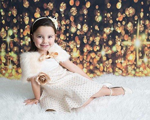 Lilax Little Girls' Sparkle Polka Dot Twirl Dress 7