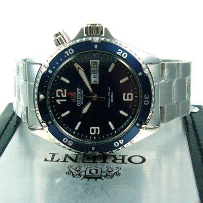 Orient professional Diver Automatikuhr Taucheruhr Deep blau