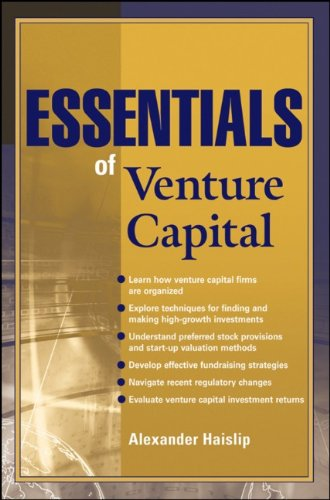 Essentials of Venture Capital (Essentials Series)