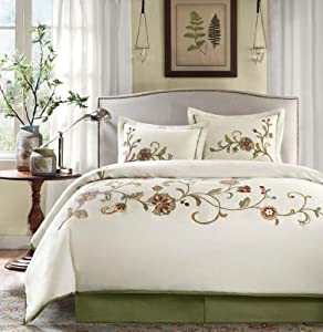 Harbor House Madeline Comforter Set Queen Ivory Lacs 2