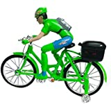 Bigbasket Street Bicycle Battery Operated Musical Cycle Toy For Kids (red,green)