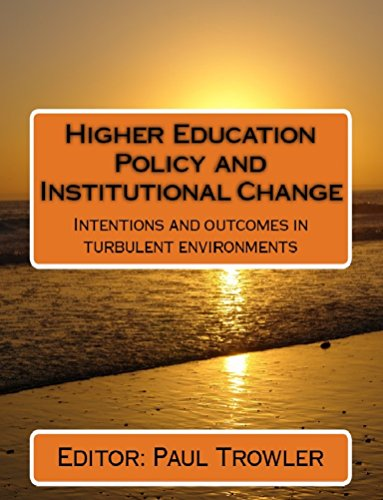 Higher Education Policy and Institutional Change