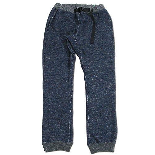 (コバノ) cobano WOOL SWEAT PANTS ウールレディースイージーパンツ NAVY