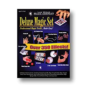 Deluxe Magic Set by Las Vegas Magic Company