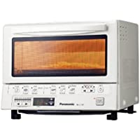 Panasonic NB-G110PW FlashXpress Toaster Oven with Double Infrared Heating (White)