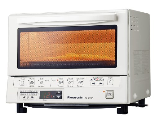 Panasonic PAN-NB-G110PW Flash Xpress Toaster Oven, White (Small Double Oven compare prices)