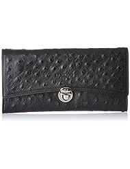 Da Milano Women's Wallet (Black) (LW-0905ABLACKOST)