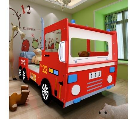 Lit Enfant Camion De Pompier 200 X 90 M