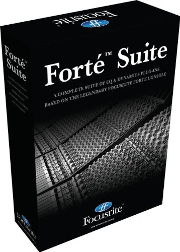 Focusrite Forte Suite Channel Strip Plug-in for