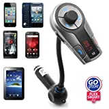 51bZfiEEMzL. SL160  GOgroove Flexsmart X2 Advanced Wireless In Car Bluetooth FM Transmitter with Charging, Music Control and Hands Free Calling Capability for Android, iPhone, Blackberry and Windows Smartphones