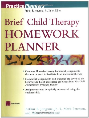Couples therapy homework planner second edition