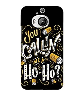 Ho Ho Singer 3D Hard Polycarbonate Designer Back Case Cover for HTC One M9+ :: HTC One M9 Plus