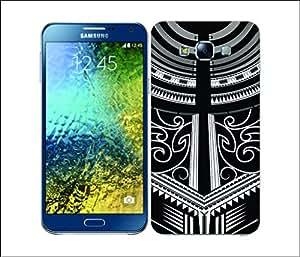 Galaxy Printed 2722 Samona Tatoo Body Hard Cover for Samsung GRAND I9082