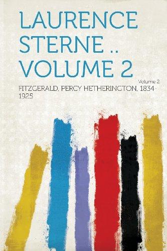 Laurence Sterne .. Volume 2