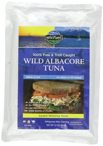 Wild Planet Pacific Northwest Wild AlbacoreTuna, 32-Ounce Foil Pouch