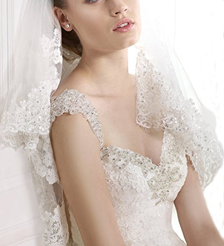 generic 2015 sweetheart openback sleeveless lace wedding