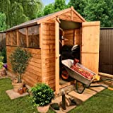 BillyOh 8' x 6' Overlap Double Door Apex Garden Shed