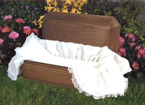 PET CASKET Affordable Family Pet Casket Large Dog Animal Casket Includes $ 50.00 Deluxe Lace Liner {Pet Casket Size- 40