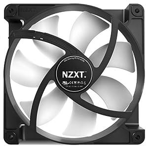 NZXT Technologies FN V2 140mm Performance Case Fan Cooling RF-FN142-RB