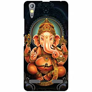 Printland Ganpati Moraya Phone Cover For Lenovo A6000