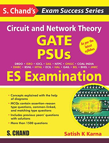 Circuit and Network Theory-GATE, PSUS AND ES Examination
