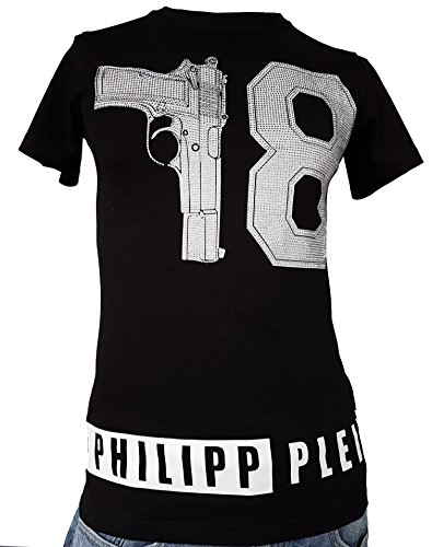 "Philipp Plein T-Shirt ""Hotel"" (S, schwarz) thumbnail"