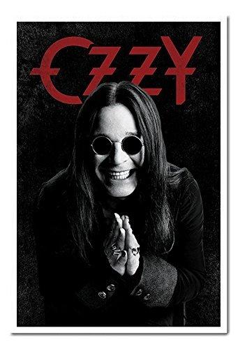 Ozzy Osbourne Pray poster sughero Pin Lavagnetta Bianco Con cornice-96.5x 66cms (circa 96,5x 66cm)