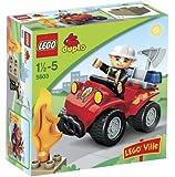 Lego - 5603 - Duplo - Jeux de construction - Le chef des pompiers
