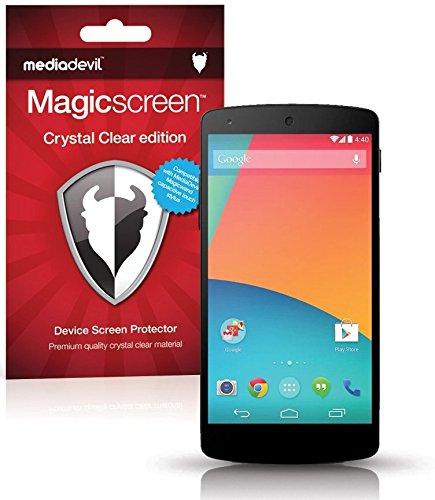 Pellicola Protettiva MediaDevil Magicscreen: Crystal Clear (Invisibile) - Per Google Nexus 5 (2 x Pellicole Protettive)