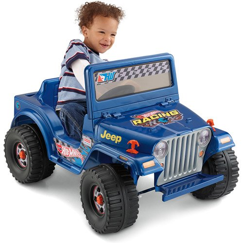 Fisher-Price Power Wheels Hot Wheels Jeep Blitz