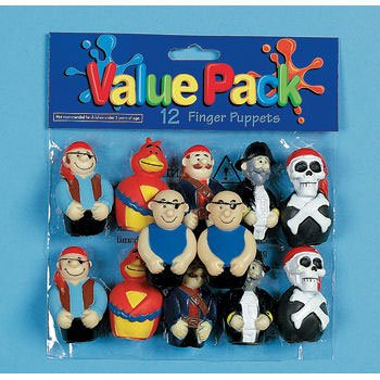 Pirate Finger Puppets - 1