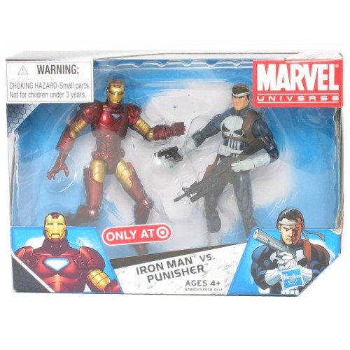 Marvel Universe 3 3/4″ 2er-Pack Iron Man vs. Punisher (Target Exklusiv-Variante) – Hasbro jetzt bestellen