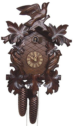 8-Day Cuckoo Clock in Antique Finish