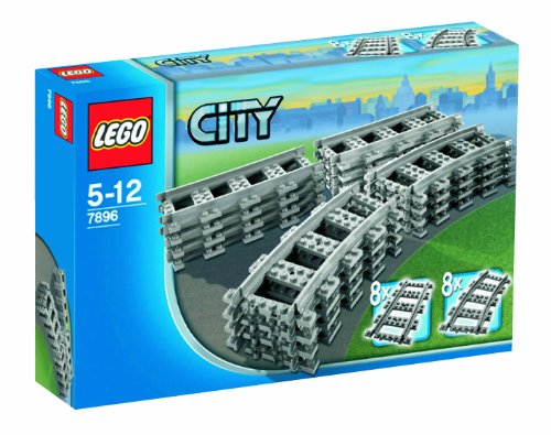 LEGO City Trains 7896 - Straight  &  Curved