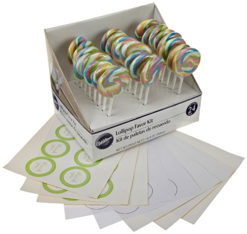 Wilton Pastel Lollipop Kit