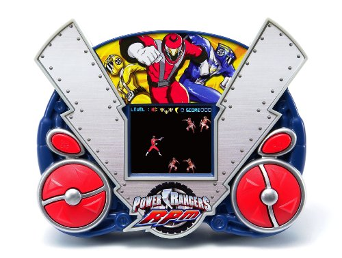 Techno Source Disney Power Ranger Rpm Lcd Handheld Game Picture